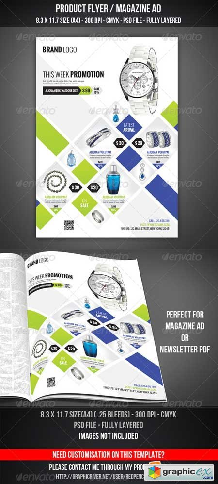 Product Flyer / Magazine AD 4450329