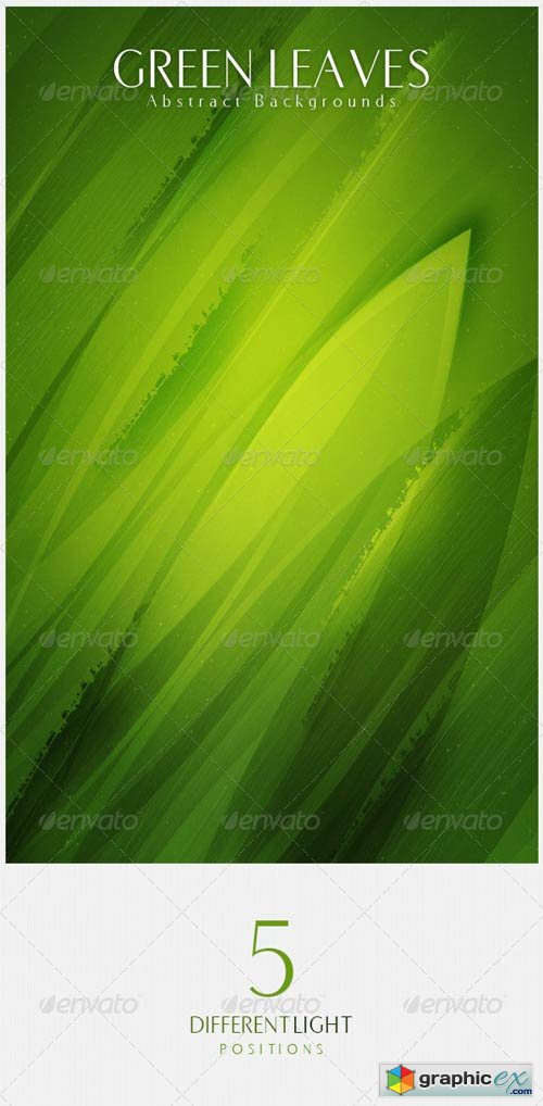 Green Leaves Abstract Backgrounds