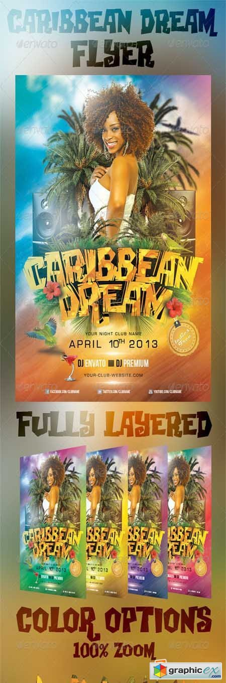 Caribbean Dream Flyer 4433249