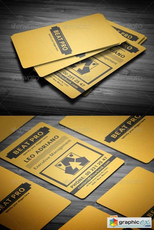 Creative Business Card V2 Template