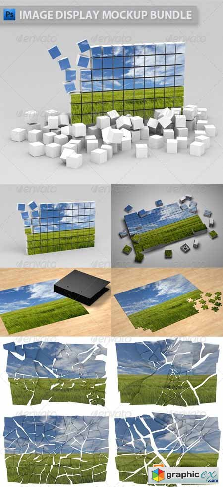 Image Display Mockup Bundle 1467780