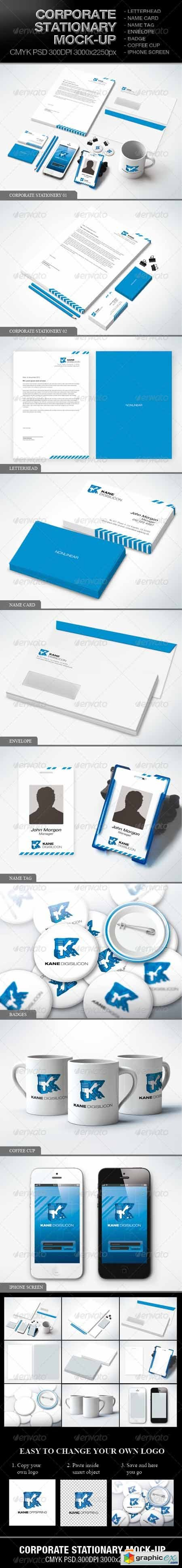 Corporate Stationary Mock-up 3885546