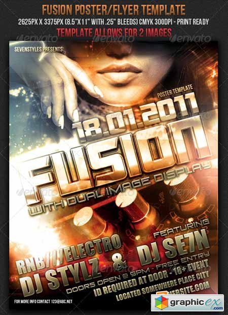 Fusion Poster/Flyer Template