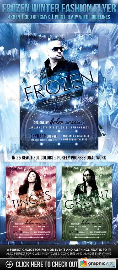 Frozen Winter Fashion Flyer 1327603