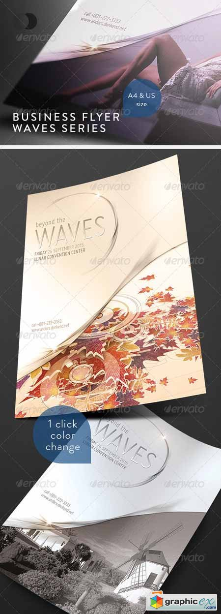 Business Flyer - Waves Series 251093