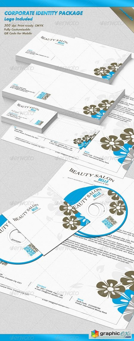 Belle - Corporate Identity Package