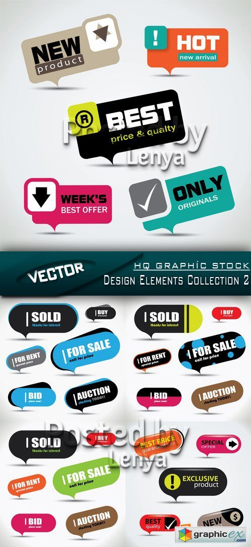 Stock Vector - Design Elements Collection 2