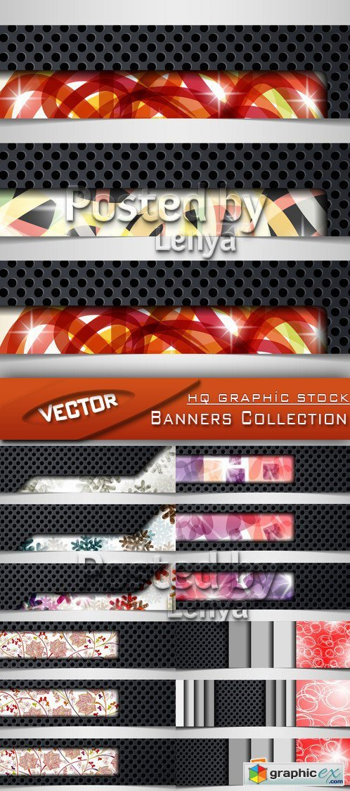 Stock Vector - Banners Collection 01