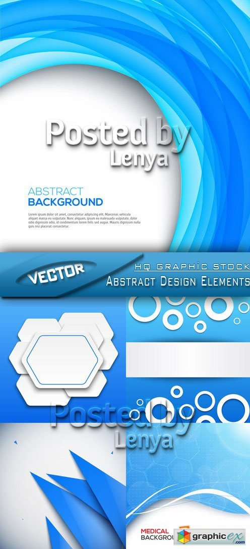 Stock Vector - Abstract Design Elements 01