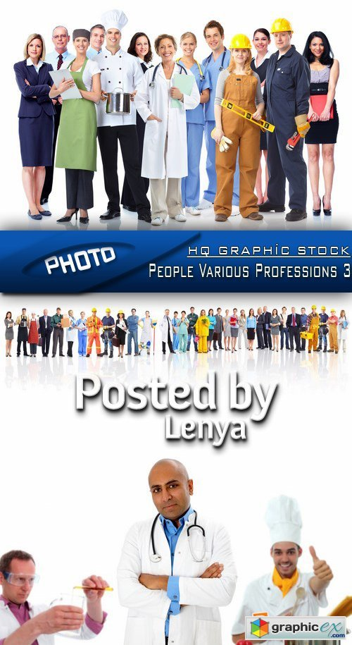 Stock Photo -  People Various Professions 3