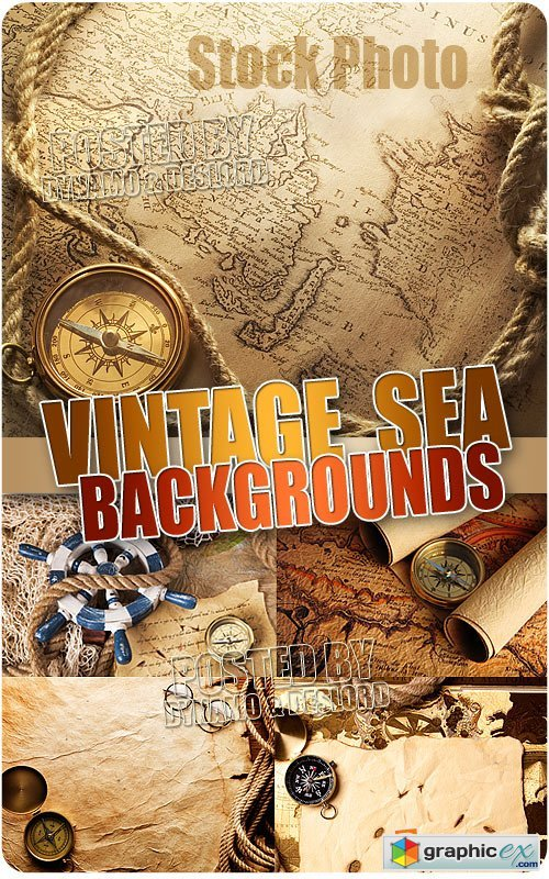 Vintage sea backgrounds - UHQ Stock Photo