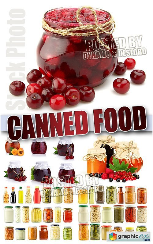 Canned Food - UHQ Stock Photo