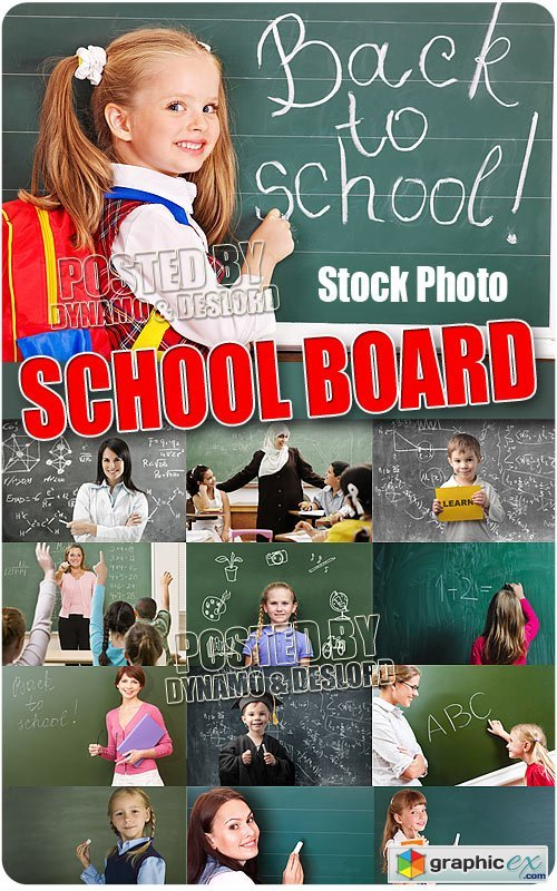 School boards - UHQ Stock Photo