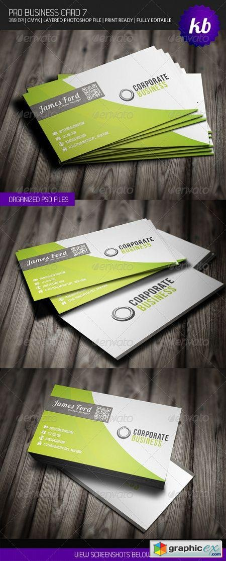 Pro Business Card 7