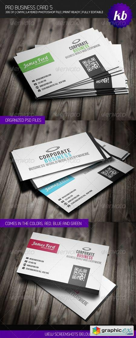 Pro Business Card 5