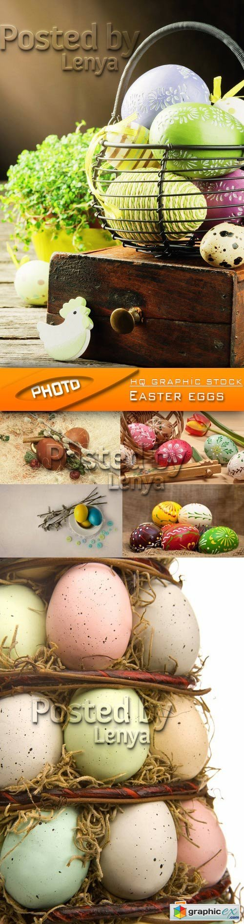 Stock Photo - Easter eggs 01