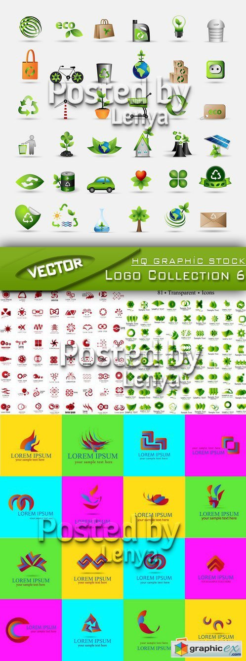 Stock Vector - Logo Collection 6