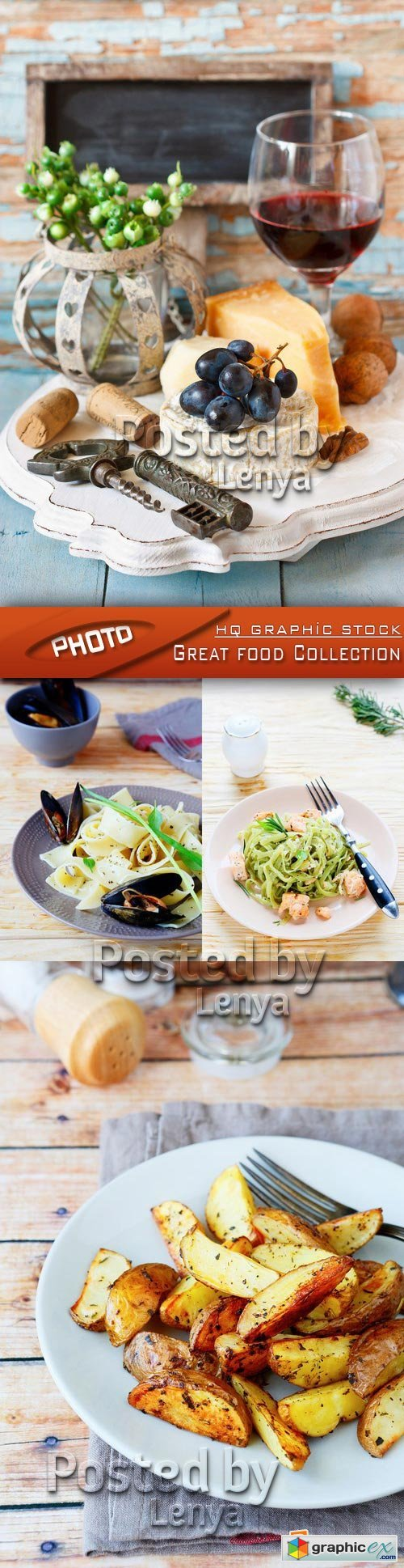 Stock Vector - Great food Collection