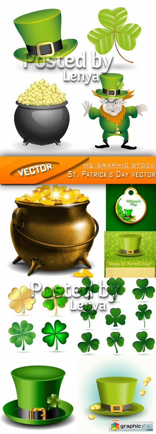 Stock Vector - St. Patrick's Day vector