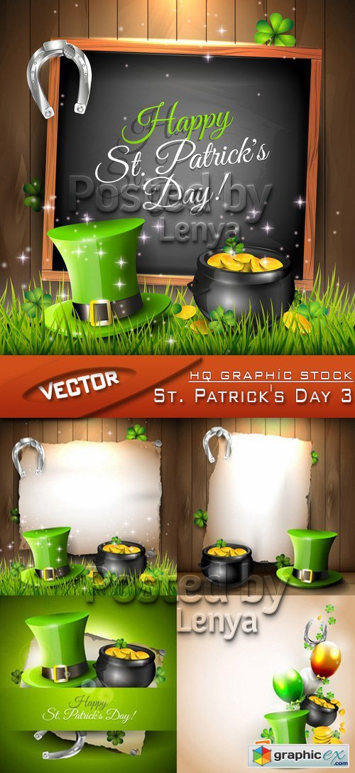 Stock Vector - St. Patrick's Day 3
