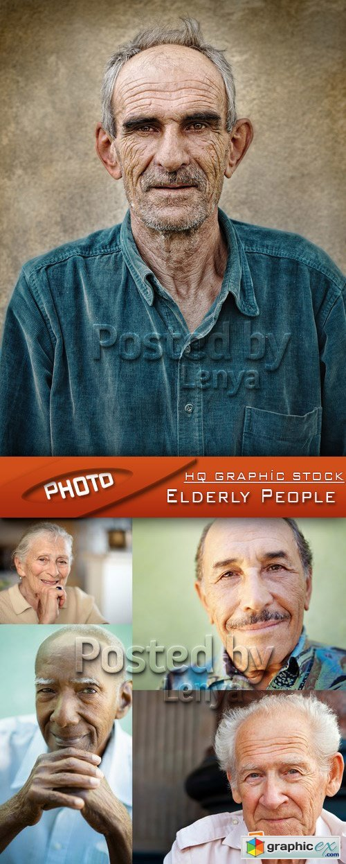 Stock Photo - Elderly People