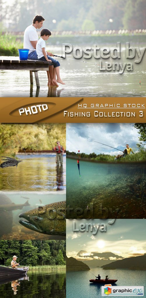 Stock Photo - Fishing Collection 3