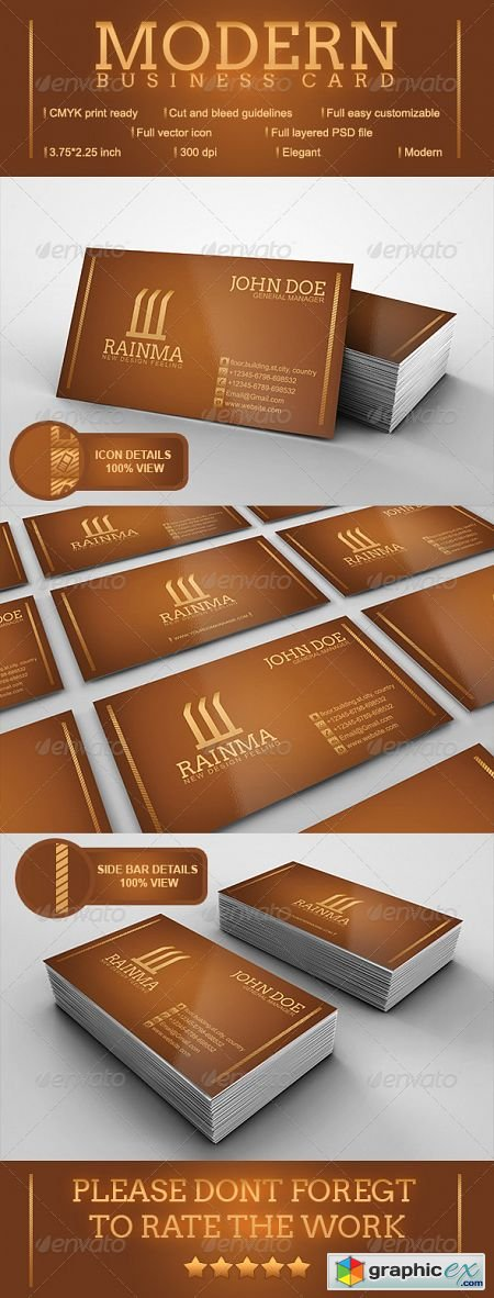 Modern Business Card 3574541