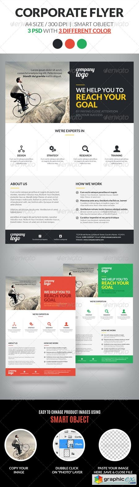 Corporate Flyer Template Vol 2 6955430