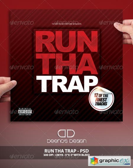 Run Tha Trap Album Cover 6942978