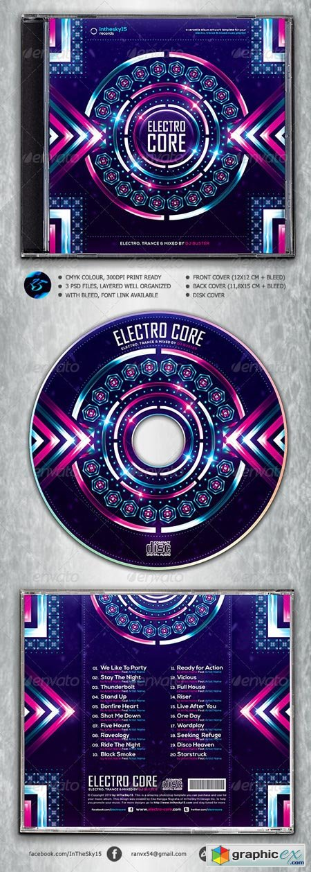Electro Core CD Album Artwork 6949363