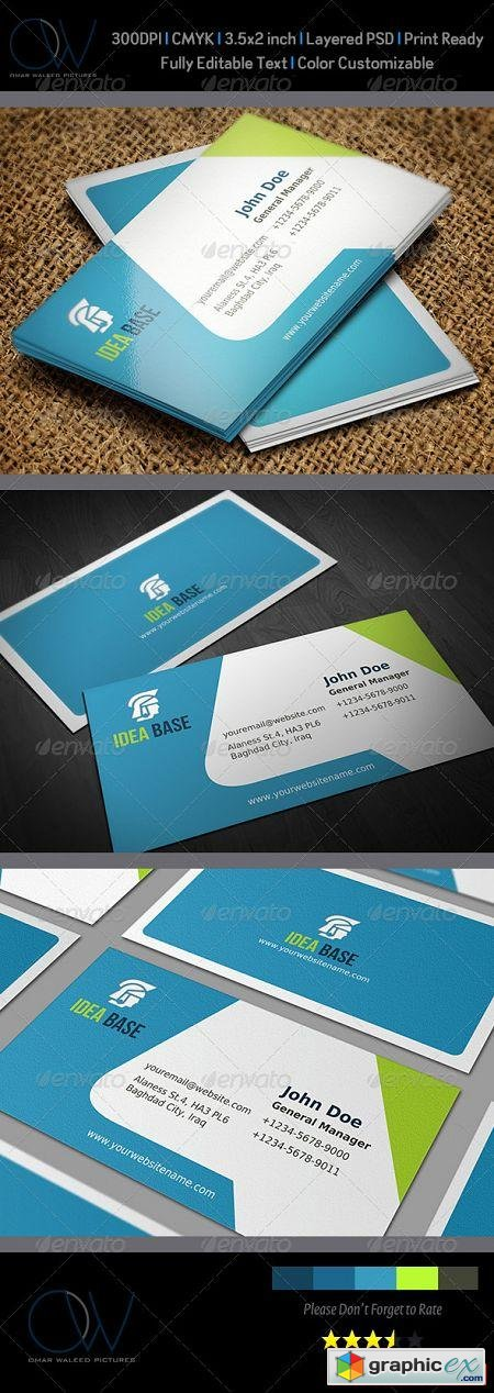Corporate Business Card Vol.12