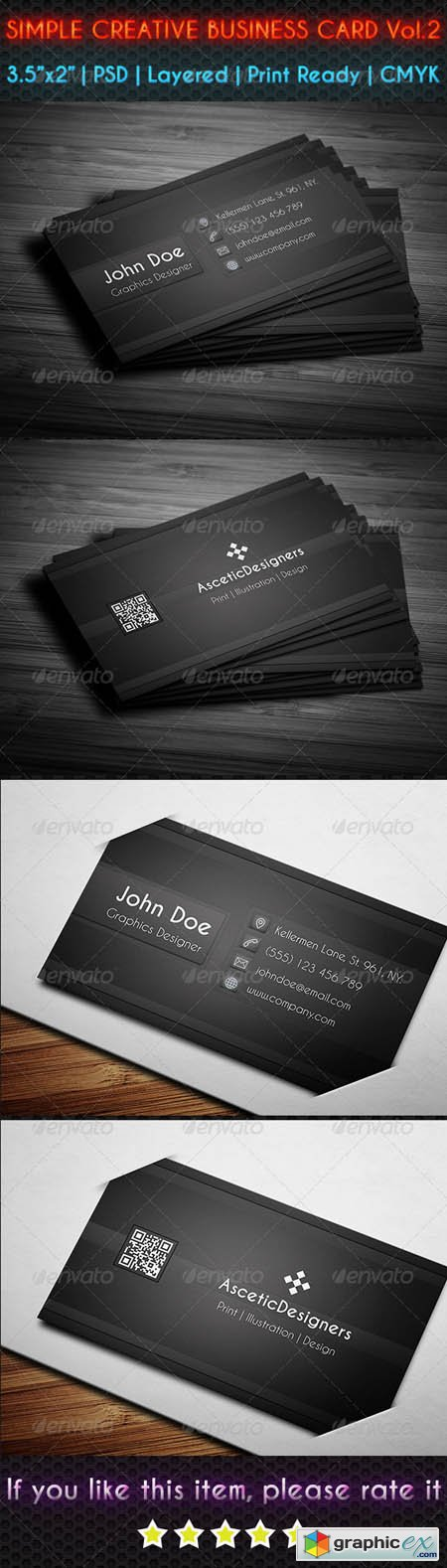Simple Creative Business Card Vol.2 6912707