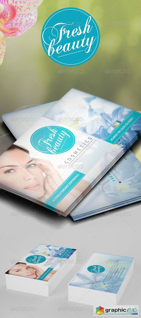 Fresh and Beauty Business Card 6926322