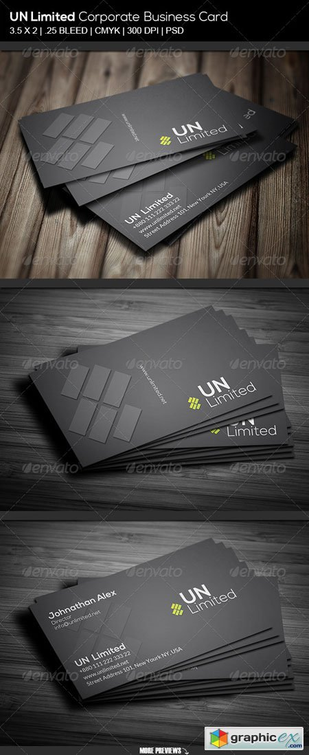 Unlimited Corporate Business Card 6906870
