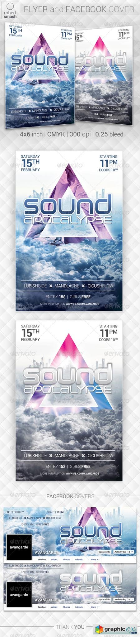 Sound Apocalypse Flyer 6906949