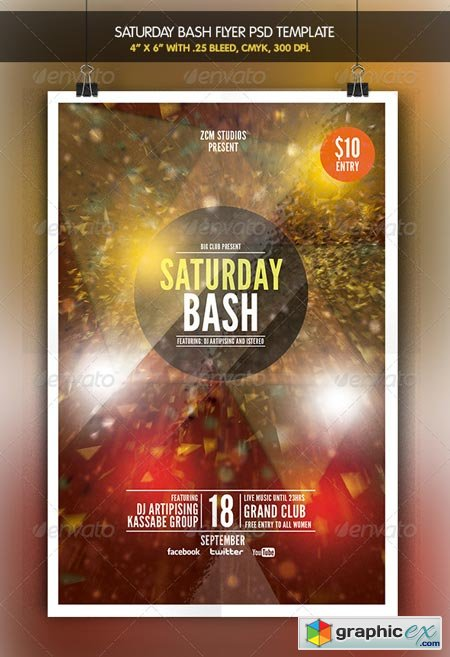 Saturday Bash 6913780