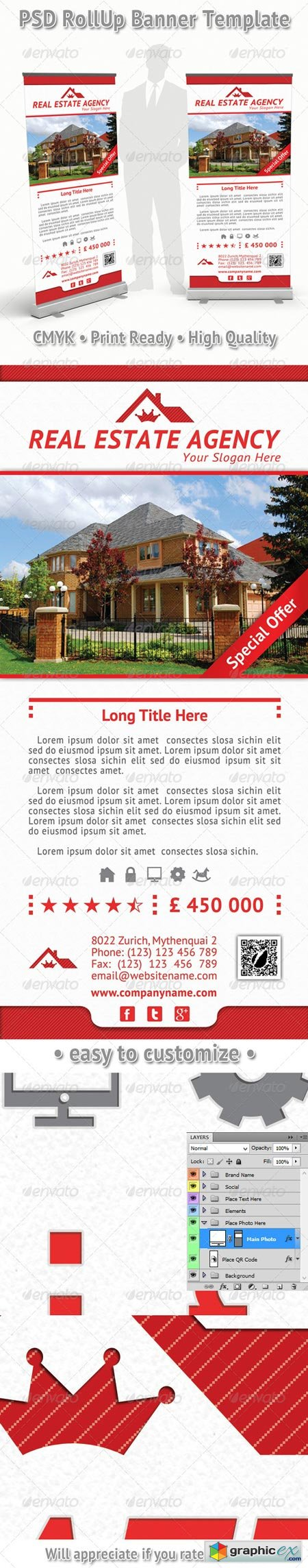 Real Estate Agency Rollup Banner 15 6913404
