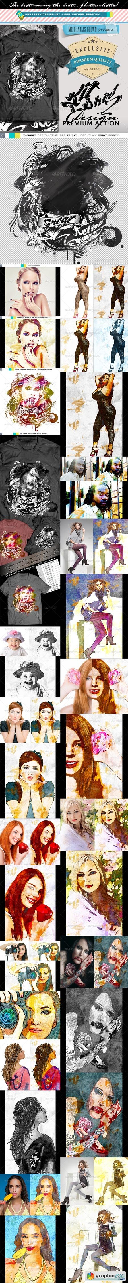 Advance T-Shirt Design Kit 2 � Stencil Fine Art 6480106
