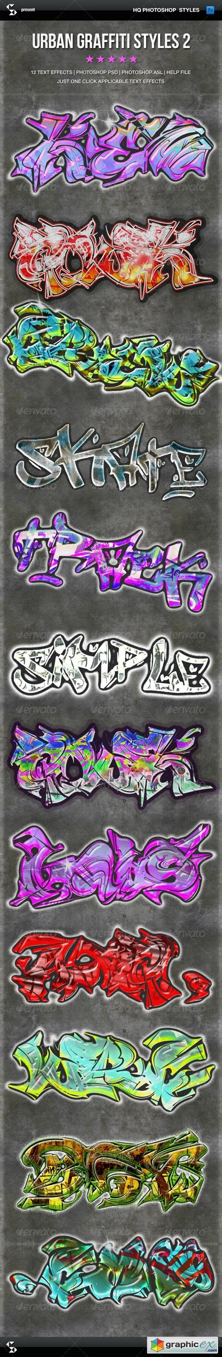 Urban Graffiti Text Effects 2 6703543