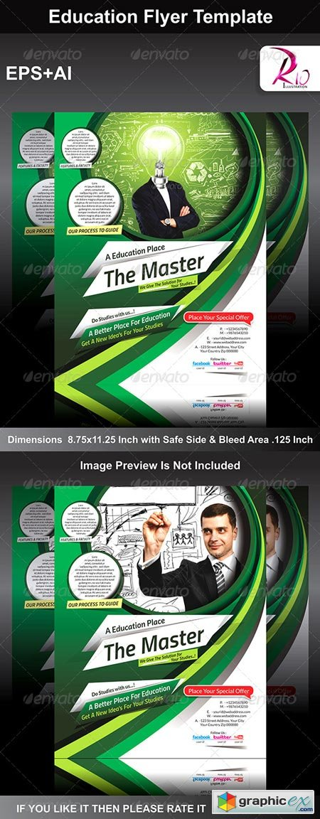 Education Flyer Template 6236261