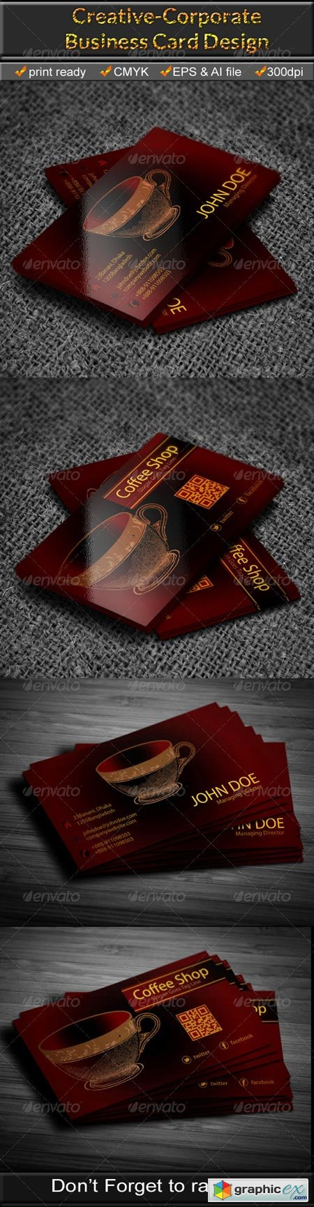Coffee Shop Business Card 6675016