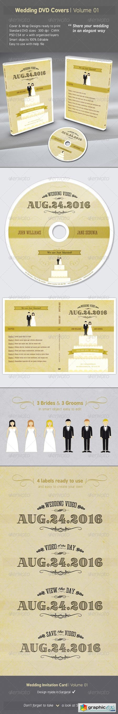 Wedding DVD Covers - Volume 01 6680570