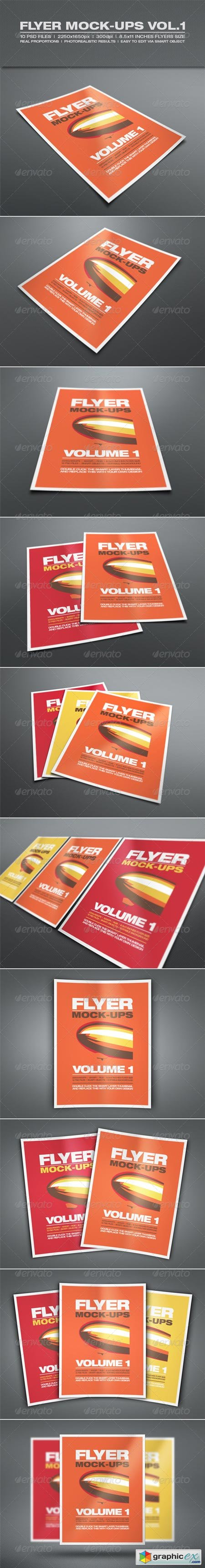 Flyer Mock-up Vol.1 6681753
