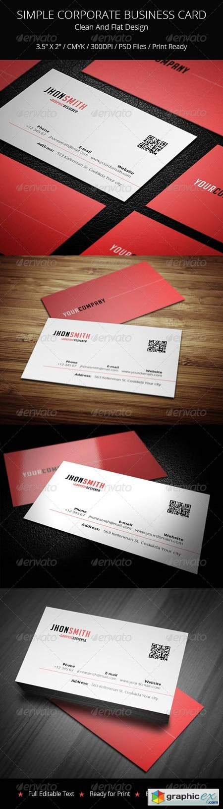Corporate Business Card 6584995