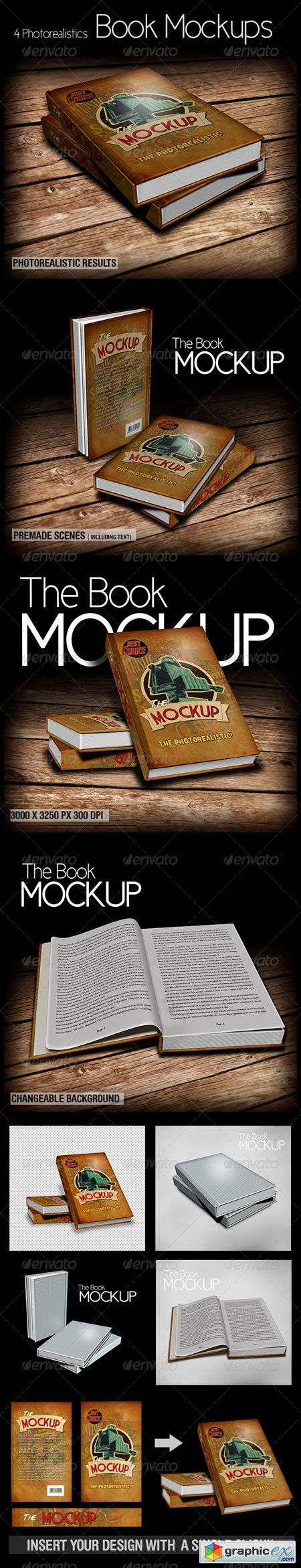 The Book Mockup 6077778