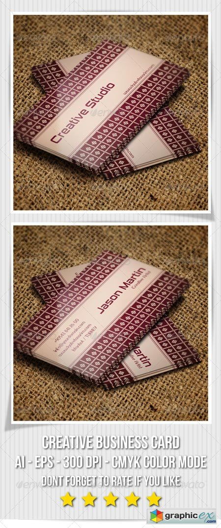 Creative Business Card - 62 6603557