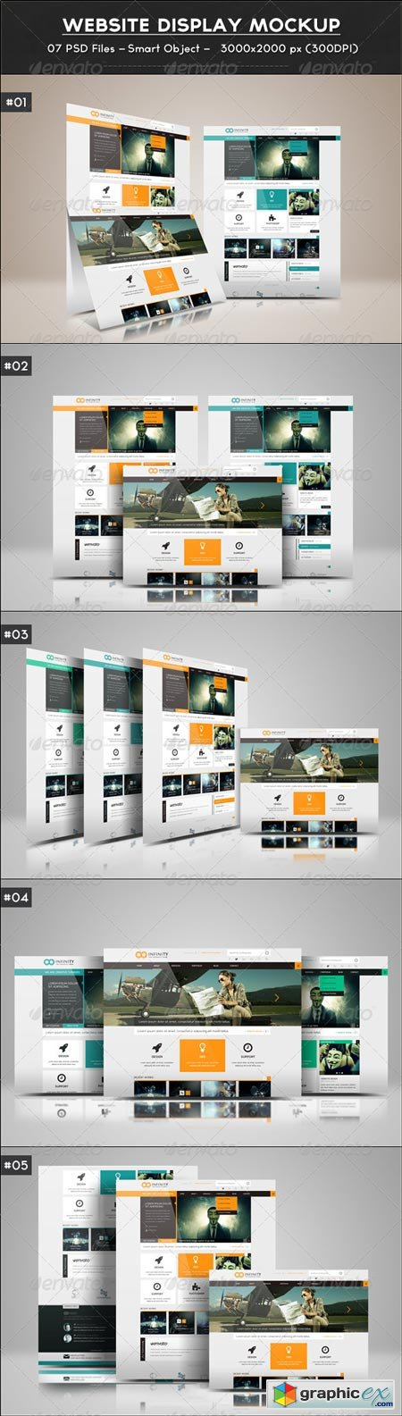 Website Display Mockup 6552077