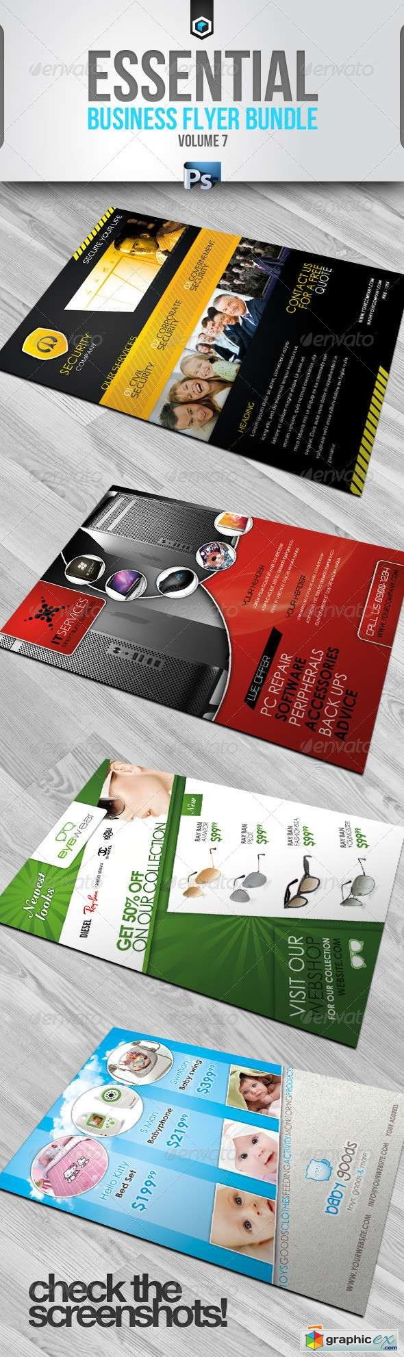 RW Essential Business Flyers Bundle Vol 7