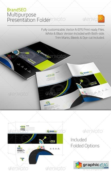BrandSEO Multipurpose Presentation Folder 4413948