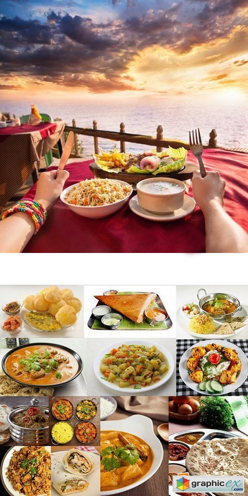 Indian Food Set #2 - 25 HQ Jpg